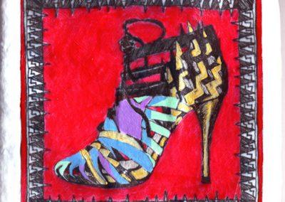 Warhol Shoes — Ladies Super-Strappy Pump