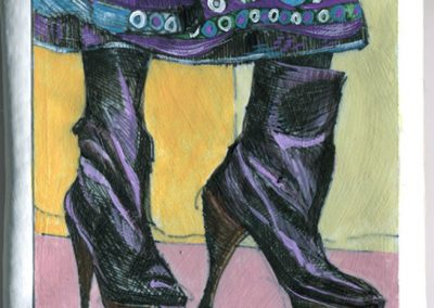 Warhol Shoes — Ladies Skirt Boots